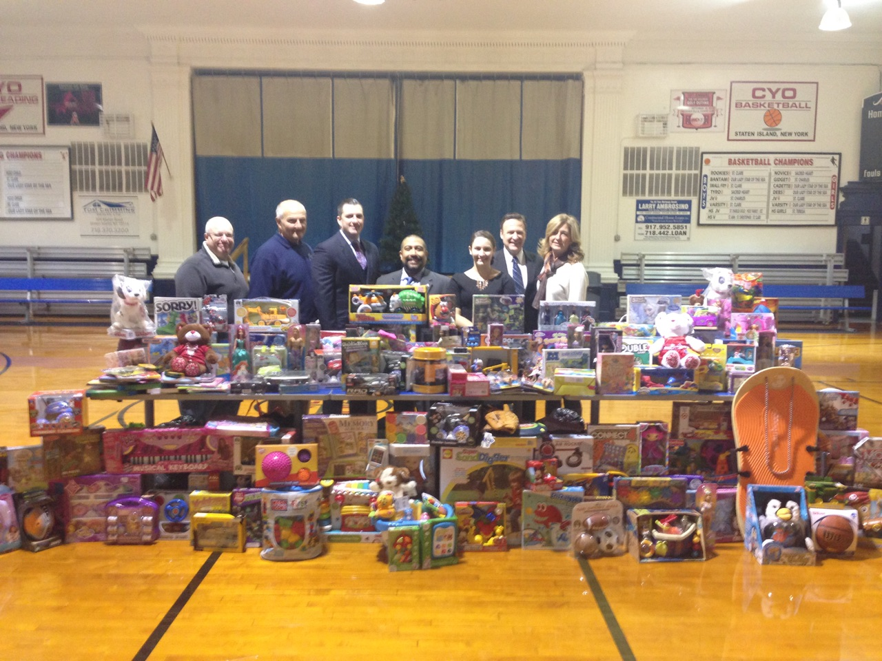 Tom Crimmins Realty Toy Drive