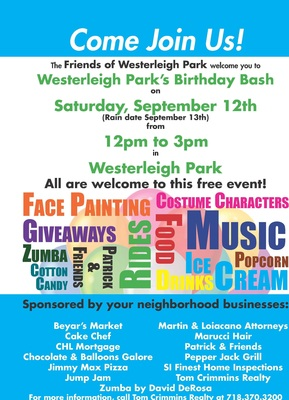 Westerleigh Park, free things to do this weekend